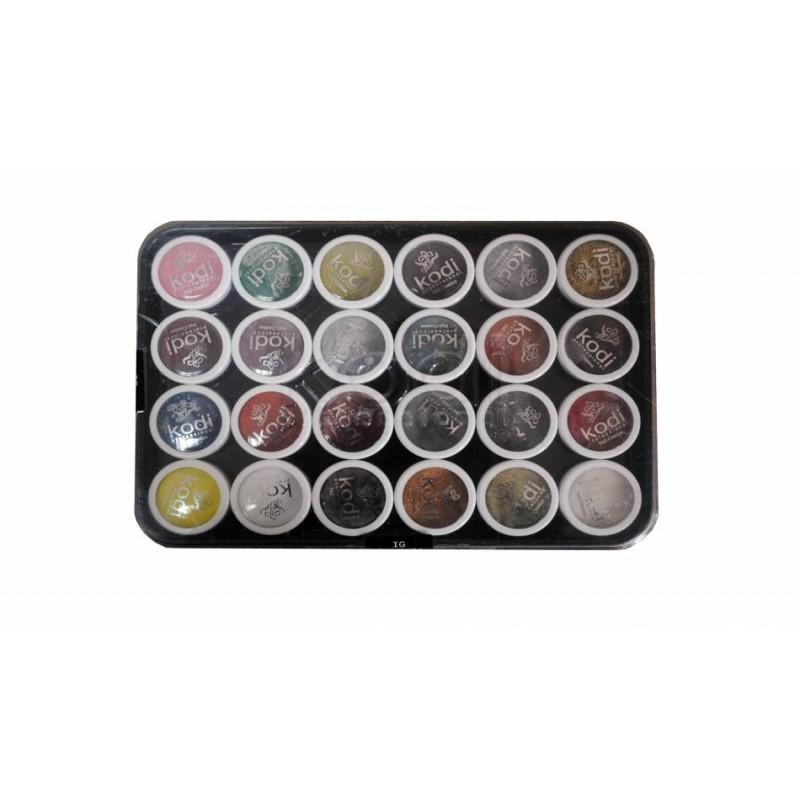Набор цветных акрилов G1 24 шт. фото, цена