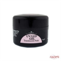 Гель Naomi UV/LED Translucent Pink, 14гр