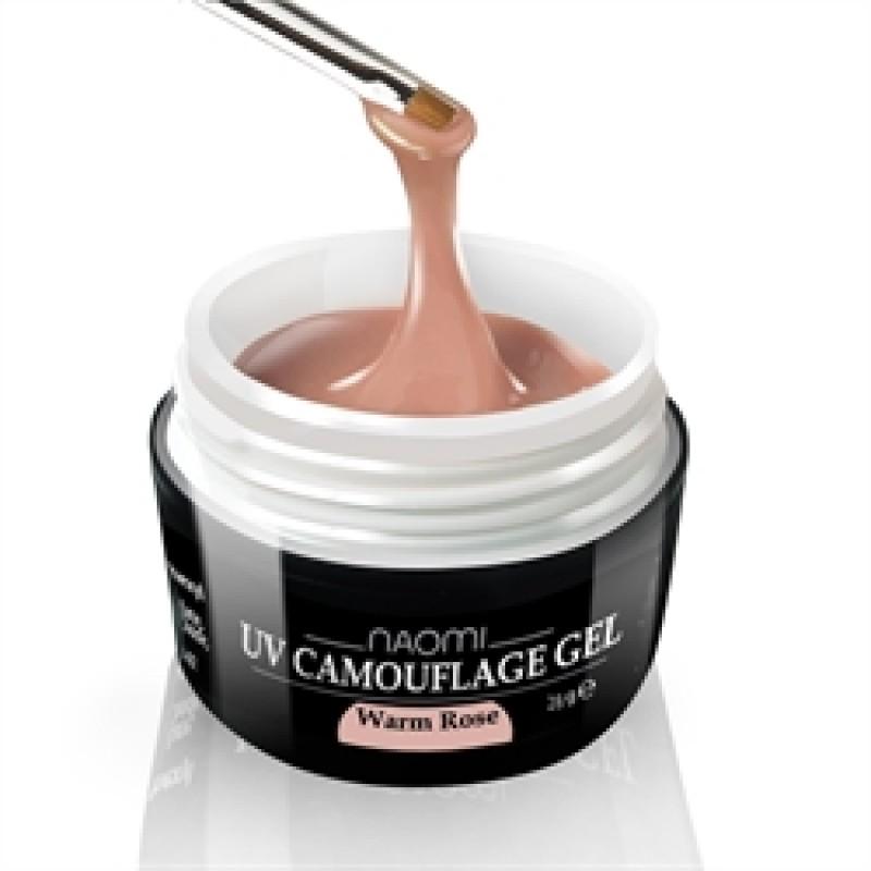 Камуфляжный Гель Naomi - UV Camouflage Warm Rose 14 гр (теплая роза) фото, цена