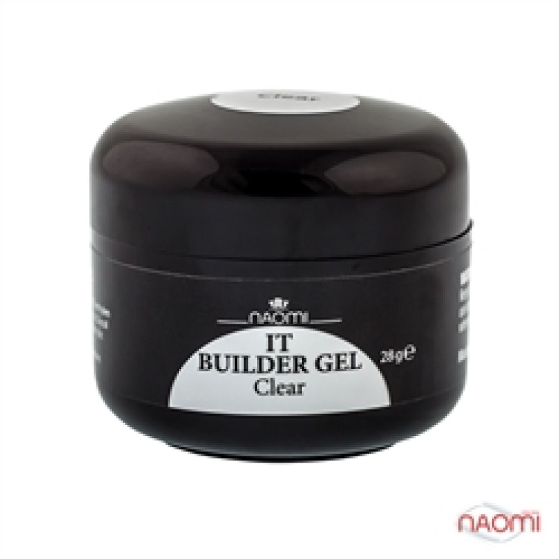 Строительный Гель Naomi - UV IT Builder, 28 гр Clear (прозрачный) фото, цена