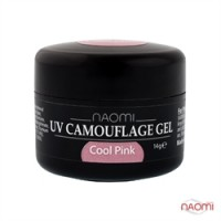 Камуфляжный Гель Naomi UV Camouflage Gel Cool Pink, 14гр