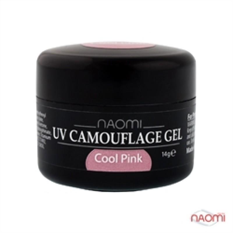 Камуфляжный Гель Naomi UV Camouflage Gel Cool Pink, 14гр фото, цена