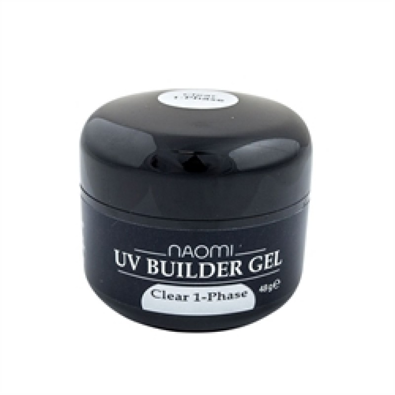 Гель Naomi UV Builder Gel Clear 1-Phase, 48гр фото, цена