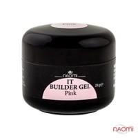 Строительный гель Naomi - UV IT Builder, 28 гр Pink (розовый)