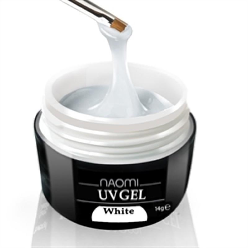 Гель белый Naomi - UV Gel White, 14 гр фото, цена
