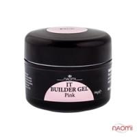 Строительный гель Naomi - UV IT Builder, 14 гр Pink (розовый)