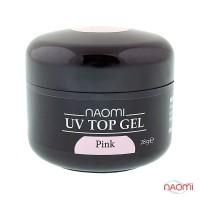 Гель Naomi UV Top Gel Pink, 28гр