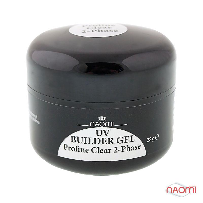 Гель Naomi UV Builder Gel Proline Clear 2-Phase, 28гр фото, цена