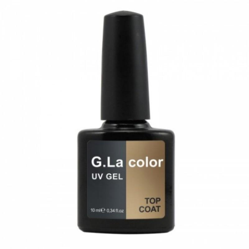 Закрепитель гель лака G.La color UV GEL TOP COAT 10 мл фото, цена