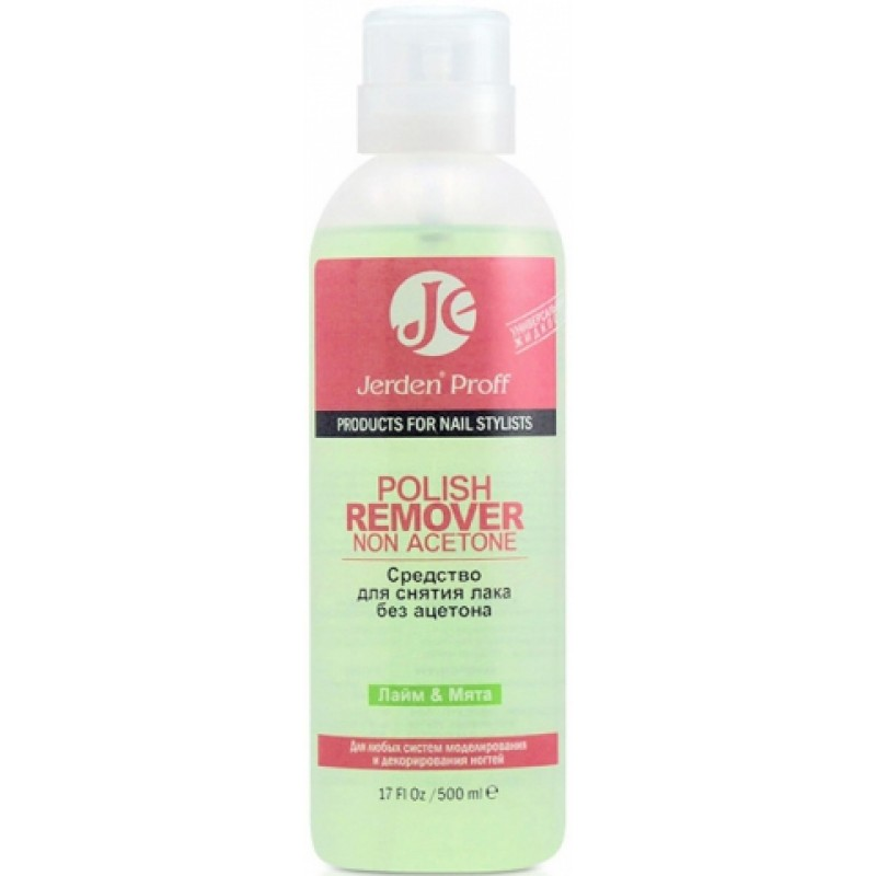 Lime and Mint Polish Remover Non Acetone 500 мл фото, цена