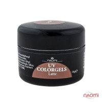 Гель Naomi UV Colorgels Latte, 14гр