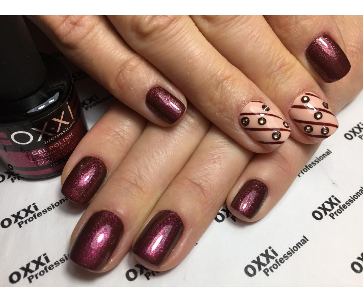 Окси гель лак фото на ногтях
